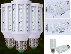 DC12V E27 Base Socket Screw LED Corn Light Lamp Bulb Outdoor Camp Home
