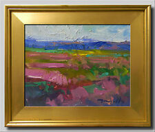JOSE TRUJILLO Impressionist Oil PAINTING new COLORIST Landscape FRAMED ART 8x10