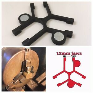 Lathe Chuck Stop Spider To Easy Locate Short Parts - For 13mm Jaw - 3 Jaw Chuck