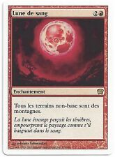 Lune de sang - Blood moon - mtg - Magic