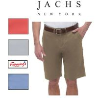 NEW JACHS Men's Sateen Casual Walking Flat Front Shorts  VARIETY SIZE/COLOR- F51