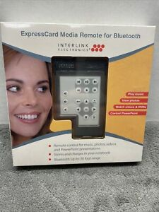 Interlink Electronics ExpressCard Media Remote for Bluetooth (NEW & SEALED)