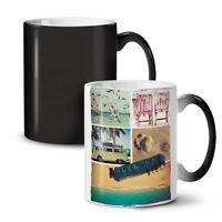 Adventure Travel Holiday NEW Colour Changing Tea Coffee Mug 11 oz   Wellcoda