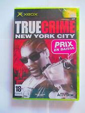 true crime ny new york city xbox neuf sous blister
