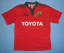 Munster Rugby / 2011-2013 Home - ADIDAS - JUNIOR Shirt / Jersey. Size: 13-14 164