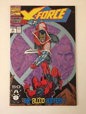 X-FORCE #2 Marvel Comics Vol1 September 1991 Deadpool Liefeld Nicieza X-MEN BIN