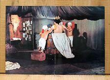 IL CASANOVA di Federico Fellini fotobusta poster affiche Botte Nani BF48