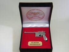 "Mauser ""Broomhandle"" Pistol miniature replica"