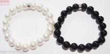 Markenlose Modeschmuckstücke mit Achat-Perlen