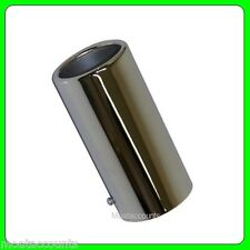 Straight Exhaust Pipe Chrome Trim [SWCT70] to Fit 55mm to 65mm Diameter Exhausts