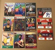 Lot of 12 Zion Williamson 2019 Duke 2020 New Orleans Pelicans Rookie Cards Rc