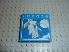 LEGO Brick 1x6x5 with LL2079 Floating Astronaut Picture Réf 3754p01 Set 493/926