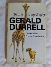 Gerald Durrell Beasts In My Belfry 1973 1st Edition