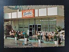 Vintage Postcard Santos Catering & Restaurant Palm Springs California