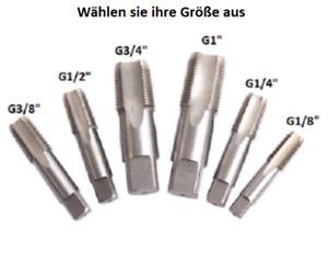 "DSW Gewindebohrer HSS Zoll G1/8"", G1/4"", G3/8"", G1/2"", G3/4"", G1"""
