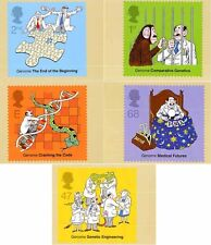 GB POSTCARDS PHQ CARDS USED REAR FDI NO. 250 2003 DNA THE SECRET OF LIFE GENOME