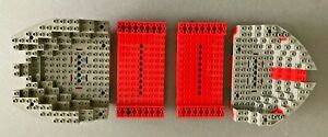 LEGO 6289 RED BEARD RUNNER FOUR PART HULL PIECES ONLY