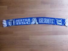 KSC - Hertha BSC Freundschaftsschal Schal Karlsruhe Berlin