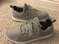 Men's Lacoste Athletic Shoes Size 10.5D Gray