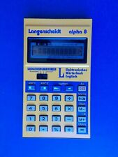 Calculator-Translator Langenscheidt Alpha 8 by SHARP MADE IN JAPAN