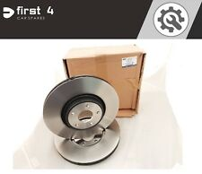 BRAND NEW GENUINE FORD FOCUS ST 225 2006-2011 PAIR FRONT BRAKE DISCS 1770767