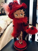 """NEW BETTY BOOP PORCELAN COLLECTOR BY DANBURY MINT 15 """""""