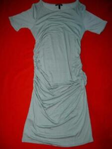 Isabella Oliver Lovely Petrol Blue Maternity Dress Size 4 UK 14 US 10