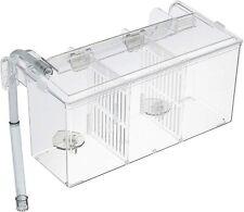 Aquarium External Hatching Isolation Hang-On Breeding Box (0.8 Gallon)