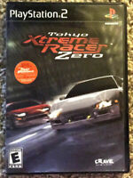 """""""Tokyo Xtreme Racer Zero"""" PS2 Complete With """"The Fast And The Furious"""" Poster"""
