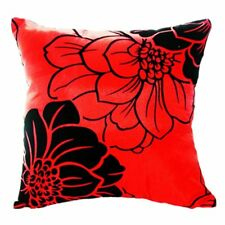 Home Sofa Bed Car Square Decorative Throw Pillow Case Cushion Cover (Red) H5T1