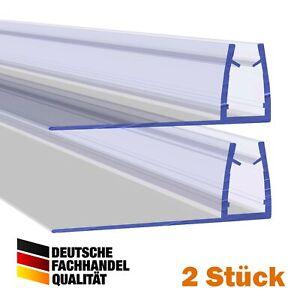 Duschdichtung Duschtürdichtung Typ: VA004-28 2 Stück Glasstärke: 4, 6, 8,10 mm
