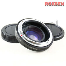 Focal Reducer Speed Booster Adapter Canon FD mount lens to Micro 4/3 GF6 M43 EP5
