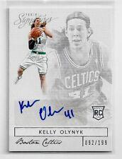 Kelly Olynyk RC Auto  92/199  2013-14 P. Signatures #28  Celtics / Gonzaga   53