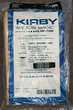 9 Kirby Sentria Micron Magic G3-6 G4 G5 Vacuum Bags 197394 plus 1 belt 301291