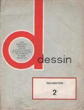 Livre: Dessin Cours Professionnels Artisanaux. Décoration 2 - AUGE Voir Sommaire