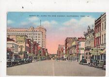 Market Street Dixie Highway Chattanooga Tenn 1941 Postcard USA 647a