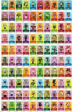 NEW Animal Crossing Amiibo Cards Series 1 - (#001-100) [US Version] PICK CARDS