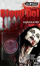 Global Coagulated Blood Gel - Wounds Makeup Special FX fancy dress costume ,30gm