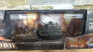 FORCES OF VALOR Sherman con figurini - 1:72 - EDIZIONE SPECIALE D-DAY