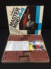 Vintage MASTERMIND 44 Game of Logic by Invicta 1977 Complete extra pieces