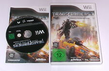 "Nintendo WII Gioco ""TRANSFORMERS 3 STEALTH FORCE EDITION"" COMPLETO"