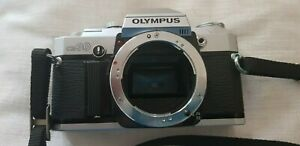 Olympus OM 30 35mm SLR camera body has Focus Assist & Metered Manual exp Chassis