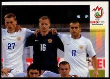 Equipo de Rusia #438 euro 2008 (brasileño) pegatina (C373)