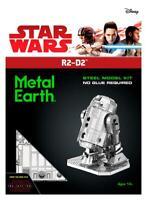 Fascinations Metal Earth Star Wars Robot R2-D2 3D Laser Cut Steel DIY Model Kit