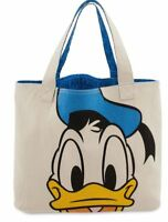 Disney Double Sided DONALD DUCK Heavy Duty Canvas Lined Tote Bag NEW ~ NWTs