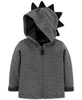 Carter's Baby Boys Zip-Up Striped Spike Hoodie - 6 Months
