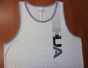 Under Armour UA Heat Gear Charged Cotton Training Sleeveless Tank Shirt 2XL