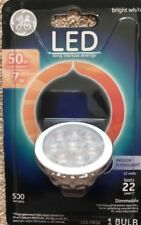Ge Led Indoor Floodlight 50W =7W Dimmable Light Bulb Mr16