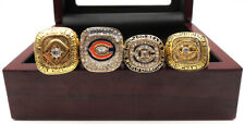 4 Pcs 1963 1985 1985 2006 Chicago Bears Championship Ring Great Gift !!