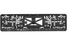 RANGE ROVER 2xECHTE 3D-Effekt Kennzeichenhalter Nummernschildhalter Number Plate